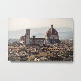 Distant Duomo Metal Print