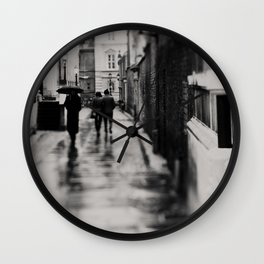on the streets of Cambridge ... Wall Clock