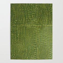 Alligator Skin Poster