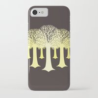 gondor iPhone & iPod Cases featuring electricitrees by freshinkstain