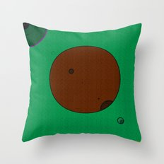 a k l i p z Throw Pillow