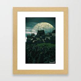 Innsmouth Framed Art Print