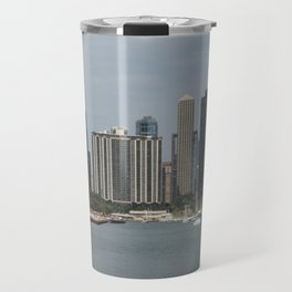 Chicago Shoreline, Skyline, Lake Michigan Travel Mug