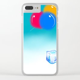 Bring the Ice Back, Balloons Clear iPhone Case