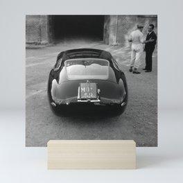 1957 4.5 Coupe, Modena, Italy Italian Sport Car Factory Photography Mini Art Print
