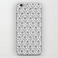 Hand Drawn Hypercube iPhone Skin