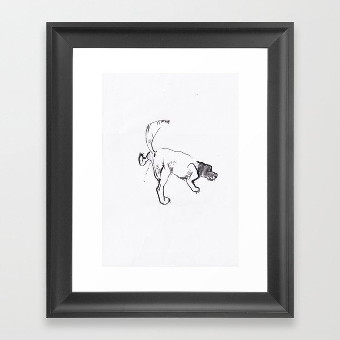 wizzer Framed Art Print