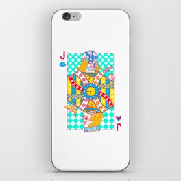 """Jack Shit """"LOST TIME"""" iPhone Skin"""