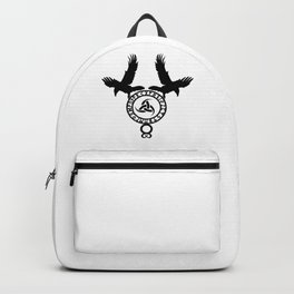 Raven - Triple Horn of Odin Backpack