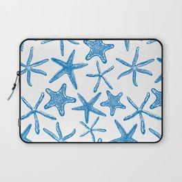 Sea stars in blue Laptop Sleeve