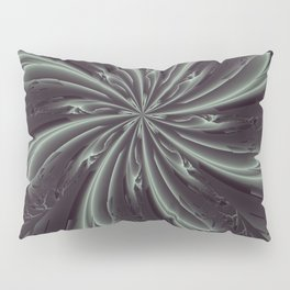 Out of the Darkness Fractal Bloom Pillow Sham