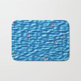 Fish in a maze Bath Mat