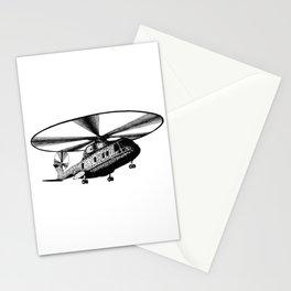 Military Chopper Marine One Nighthawk Stationery Cards