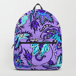 Protea Batik Hawaiian Tropical Floral Backpack