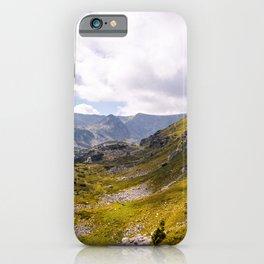 Beautiful mountain view iPhone Case