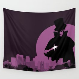 Jack Ripper's City Wall Tapestry