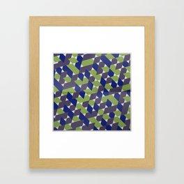 Green-Blue-Purple  Framed Art Print