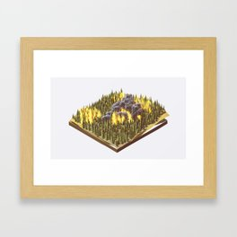 Wildfire Framed Art Print
