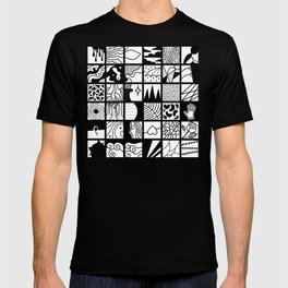 extraordinary spaces - pattern T-shirt