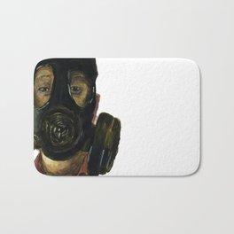 Gas mask Bath Mat