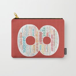 Life Path 8 (color background) Carry-All Pouch