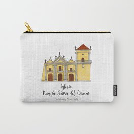 Iglesia del Carmen Carry-All Pouch