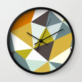 Safari Tris Wall Clock