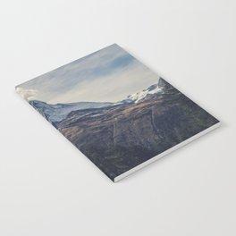 Distant Mountain Peak Notebook