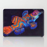 duvet cover iPad Cases featuring AMAZING CREATURE DUVET COVER by aztosaha