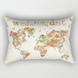 Wanderlust I Rectangular Pillow