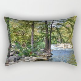 Guadalupe River in Gruene Texas Rectangular Pillow