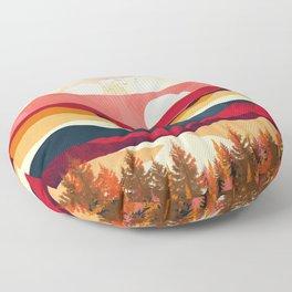 Scarlet Spring Floor Pillow