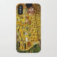 gustav klimt iPhone & iPod Cases featuring My Klimt by Müge Başak