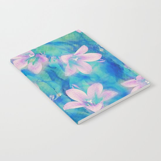 Bellflowers Notebook