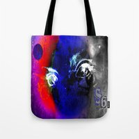 universe Tote Bags featuring universe by Laake-Photos