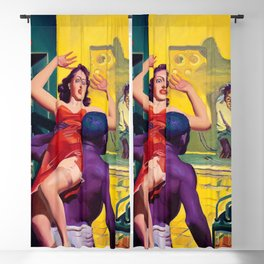 12,000pixel-500dpi - Hugh Joseph Ward - Two Fisted Tales of True Life Weird Romance Blackout Curtain