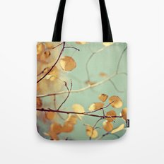 golden aspen Tote Bag