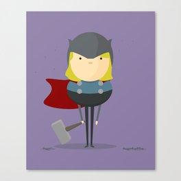 Thor: My handy hero! Canvas Print