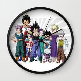 Family of Prince Wall Clock
