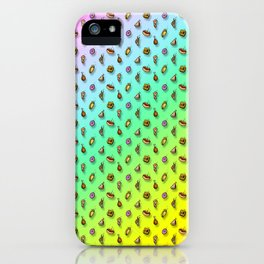 Snack Storm Rainbow Variant iPhone Case