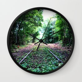 Left Behind Wall Clock