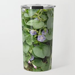 MORNING GLORY wildflower close-up Travel Mug