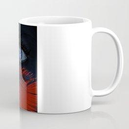 blue eyes behind Coffee Mug