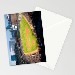 Orioles Baseball Tilt Shift Stationery Cards