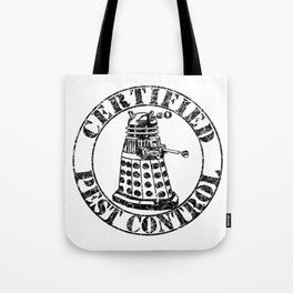 Certified Pest Control Tote Bag