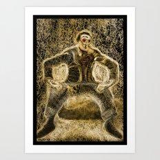 dalì-line Art Print