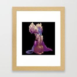 Candle Demon Framed Art Print