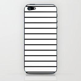 Minimalist Stripes iPhone Skin