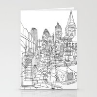 london Stationery Cards featuring London! by David Bushell
