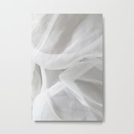 Organdí&Silicon Metal Print